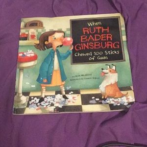 Book Ruth bader that died today